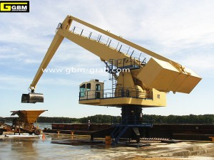 Hydraulic Balance Crane Fixed/Mobile with Grab/Hook