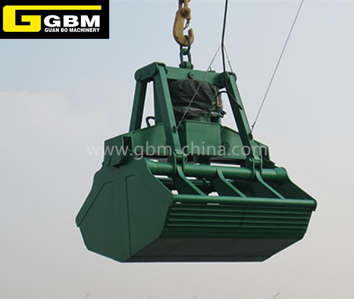 Eletro-hidráulico Clamshell Grab