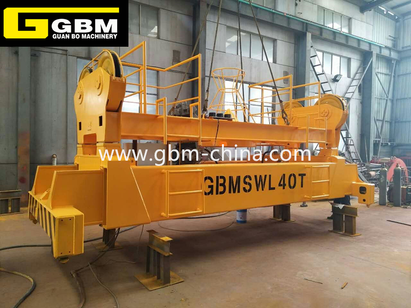 Electric hydraulic telescopic spreader Featured Image