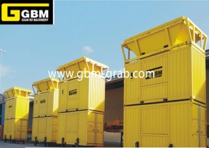 Mobile bagging machinery