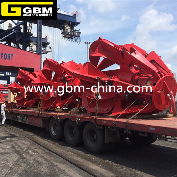 Brazil shipowner orders electric hydraulic stone grab 4,20 days delivery.