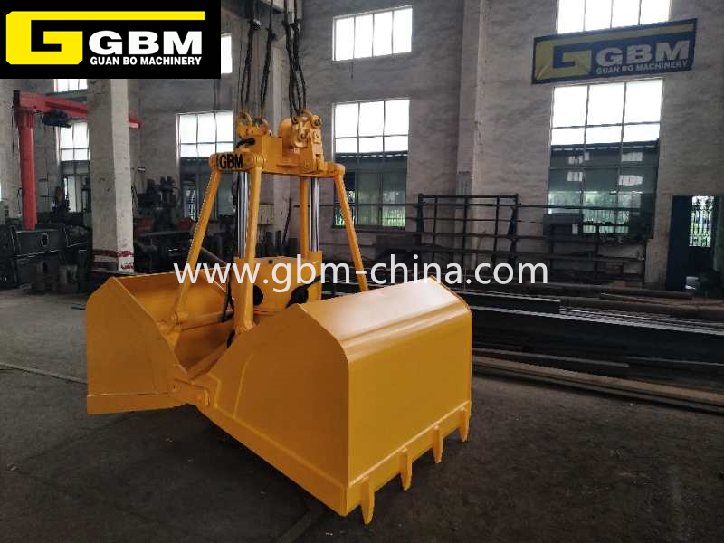 China wholesale China Grab Manufacturer - Electric hydraulic ash clamshell grab – GBM