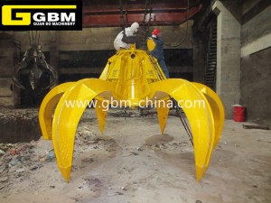 Competitive Price for Cargo Grab - Electric hydraulic garbage grab – GBM