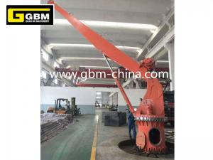 Stiff boom marine crane