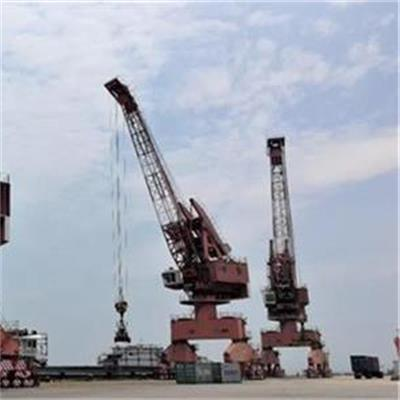 The Traditional Use Of The Port Wharf Crane