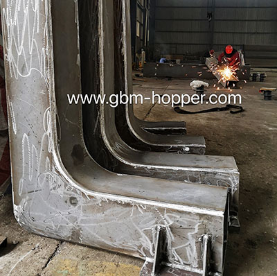New two sets ECO-HOPPER start to fabricate