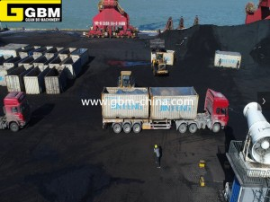 Container rotary loader & unloader equipment