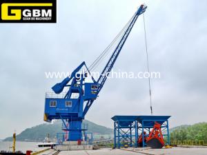 Fixed boom crane
